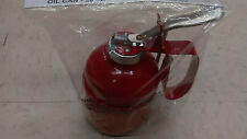 Metal Pump Oiler Oil Tin Squirt Can Tool 20 oz flexible spout oil can
