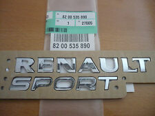 ORIGINALE Renaultsport rear badge Clio 172 182 197 Megane 225 TWINGO