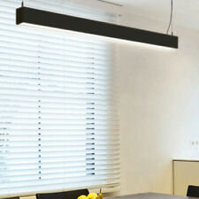 1504*50*80mm Horizon Non-Dimmable 25W  Modern LED Linear Pendant Black 3000K