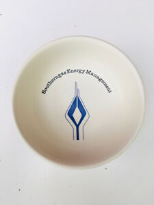 Rare Poole Pottery Southern Gas Energy Management Pin Dish, Gas Collectable