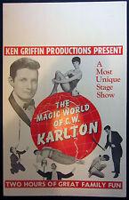 Original Karlton Window Card