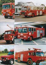 "25 - 6"" x 4"" Photos of Older RAF / Defence FIRE Appliances"