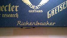 Rickenbacker calcomanía adhesivo con el logotipo para Guitarra Amplificador duro caso, Cabina, arte de Pared, Ventana,