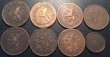 Pays-Bas - William III - Wilhelmina I - lot de x8 monnaies de 1878 à 1917 !
