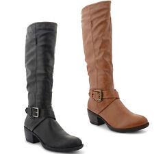 Mid Heel (1.5-3 in.) Unbranded Cuban Boots for Women