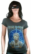 WoW AMPLIFIED IRON MAIDEN Mummy Eddie Rock Star Vintage Desinger ViP T-Shirt g.S