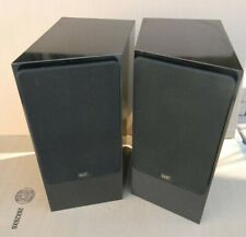 NHT (NOW HEAR THIS) 1.5 Bookshelf speakers - Matched Pair in Piano Black