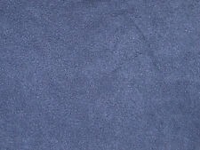 Navy Blue Solid Color Anti-Pill Fleece Fabric by the Yard   BTY