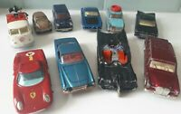 Corgi vintage die cast cars x 10 Job Lot