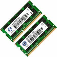 XUM 8GB 2x4GB DDR3 PC3-8500 1066Mhz 204 Pin 1.5V Laptop SODIMM Memory RAM