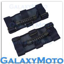 87-16 Jeep Wrangler JK TJ YJ Extreme Sport BLUE Black Rear Side Bar Grab Handle