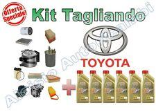 KIT TAGLIANDO TOYOTA RAV 4 III 2.2 D-4D DAL 03/2006 100/130KW - OLIO + FILTRI*