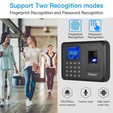 Fingerprint Biometric Time Attendance System Machine 2.4 Inch LCD Vivid Sound