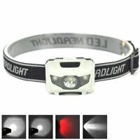 900LM XML R3 2 LED Stirnlampe USB Kopflampe 18650 Akkus-DE E3I6 S8W5