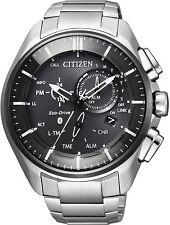 NEW 2018 Citizen Eco-Drive Bluetooth W770 Super Titanium Model BZ1041-57E by EMS