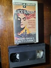 Mario Bava's Black Sunday Vhs Hard Case Video Tape ,Barbara Steele