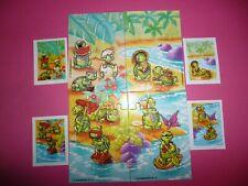 SUPER PUZZLES KINDER * TEENY TAPSI TORTELS * + 4 BPZ UE