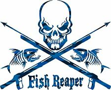 Fish Reeper Sticker Decal