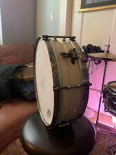 """Vintage Wurlitzer Brass Snare 14"""""""
