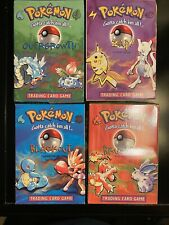Pokemon Opened Base Set 4th Print Theme Decks. No Cards, Includes Other Contents