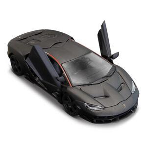 Maisto 1:18 Lamborghini LP770-4 Centenario Diecast Model Racing Car Matte Black