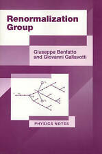 NEW Renormalization Group (Physics Notes) by Giuseppe Benfatto