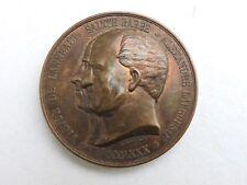 Médaille de table  Sainte Barbe  De Lanneau Labrouste 1880 Merley