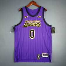 100% Authentic Kyle Kuzma Nike Lakers City Jersey Size 52 XL Mens - lebron  james 213fa616c