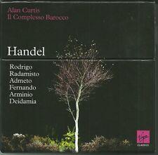 HANDEL - 6 OPERAS - 15 CDs + 1 CD-ROM - EDITIONS VIRGIN CLASSICS 2009 - EN TBE