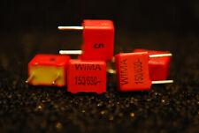 6 x WIMA FKP2 150pF 0.15nF 630VDC 250VAC 5% Capacitor FKP2J001501D00JSSD