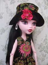 """CLOTHES FOR MONSTER HIGH 17"""" Doll Handmade Dress,Hat"""