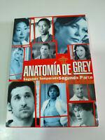 Anatomia de Grey Prima Stagione Seconda Parte - 4 X DVD Spagnolo Inglese