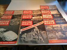 Motor Sports World - Magazine - Lot of 10 - All 1953