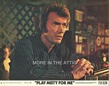 CLINT EASTWOOD DONNA MILLS PLAY MISTY FOR ME ORIG US THRILLER LOBBY CARD SET