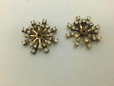 Clear Rhinestone Earring Jackets for Studs
