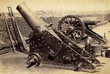 1870s | att. V. Roger | FRENCH CANNONS | heavy artillery | LARGE albumen PHOTO
