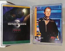 *** Babylon 5 Collectible Cards *** Season 4 Parallel lot