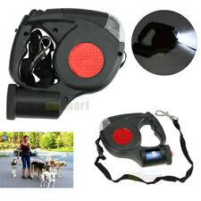Retractable Dog Leash Walking 16ft Heavy Duty 110Lb Nylon Cord Small Large Pets