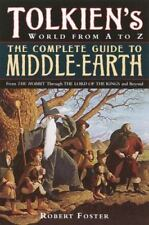 Tolkien's World from A to Z: The Complete Guide to Middle-Earth - Foster PB