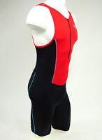 Pearl Izumi Men's Select Pursuit Tri Suit, Triathlon, Black/True Red, Small