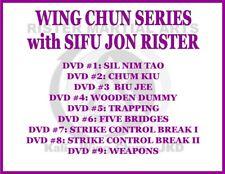 Wing Chun Series (9) Dvd Set kung fu sil nim tao chum kiu wooden dummy trapping