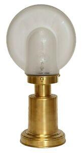"Art Déco Table Desk Lamp "" Nautilus "" Brass Lamp Table Lamp Berlin Unusual"