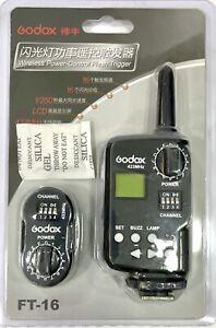 Godox FT-16 radiocomando/regolatore di potenza per Witstro ad180-360 e simili