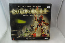 Bionicle: Quest for Makuta Board Game by Lego in 2001; Playable but incomplete