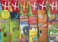 Lot of 6 Highlights Magazines Fun Kids Activities Crafts Puzzles Adventures Pets