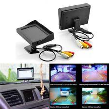 Farbe Monitor TFT LCD 4.3 Zoll für Rückfahrkamera DC 12 V Auto Display DVDD7GH