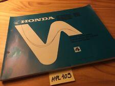 Honda NH50 NH80 Lead Aero MD MS scooter NH 50 80 parts list lcatalogue piece
