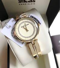 Anne Klein Watch * 3248CHGB Swarovski Gold Steel Bangle Women COD PayPal