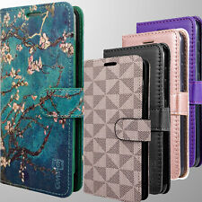 For Motorola Moto E 2020 Wallet Case RFID PU Leather Card Holder Phone Cover