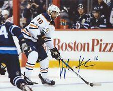 Jujhar Khaira Signed 8x10 Photo Edmonton Oilers Autographed COA D